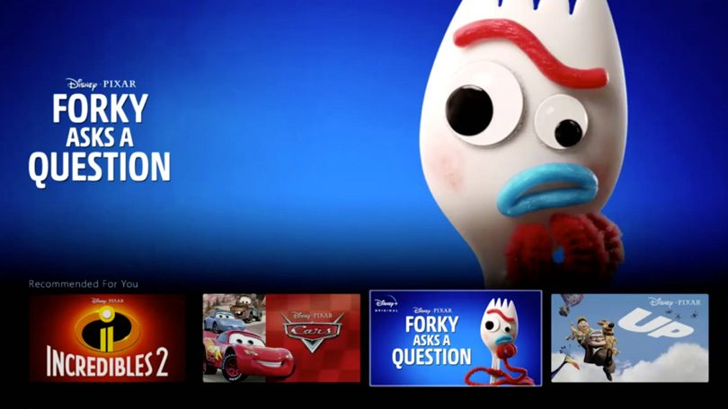 Forky Asks A Question Disney+