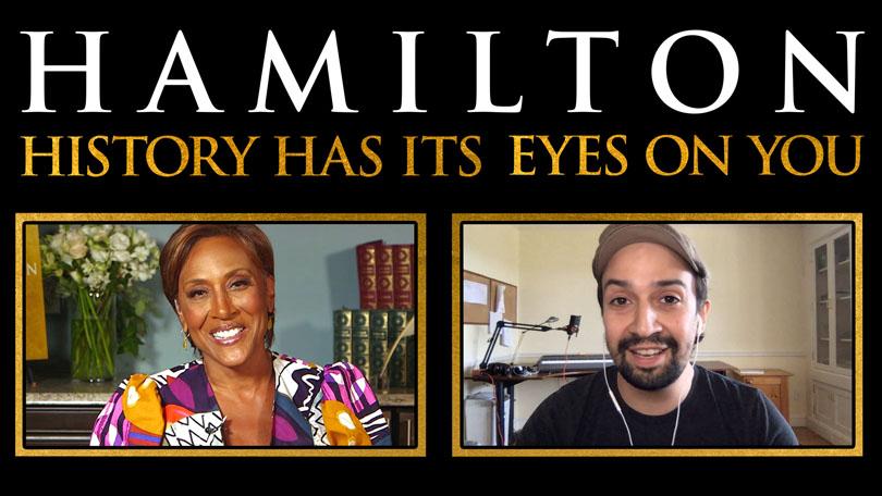 Hamilton Has Its Eyes On You Disney Plus