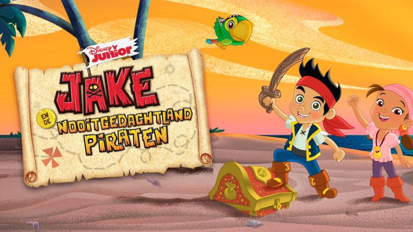 Jake en de Nooitgedacht Piraten Disney Plus