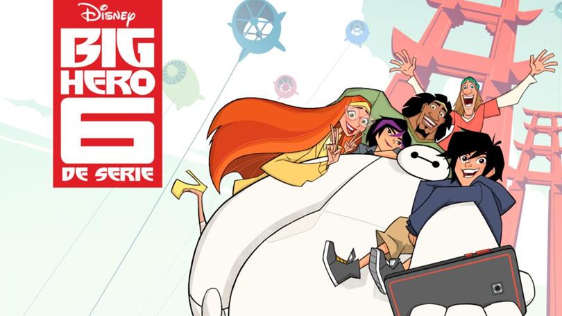 Big Hero 6 De Serie Disney Plus