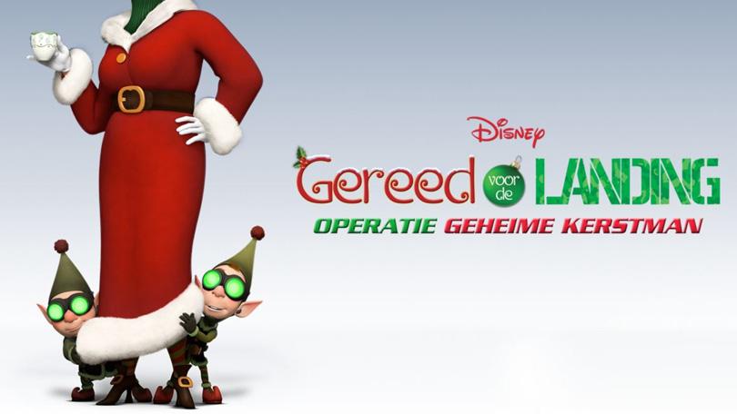 Gereed voor de Landing Geheime Kerstman Disney Plus