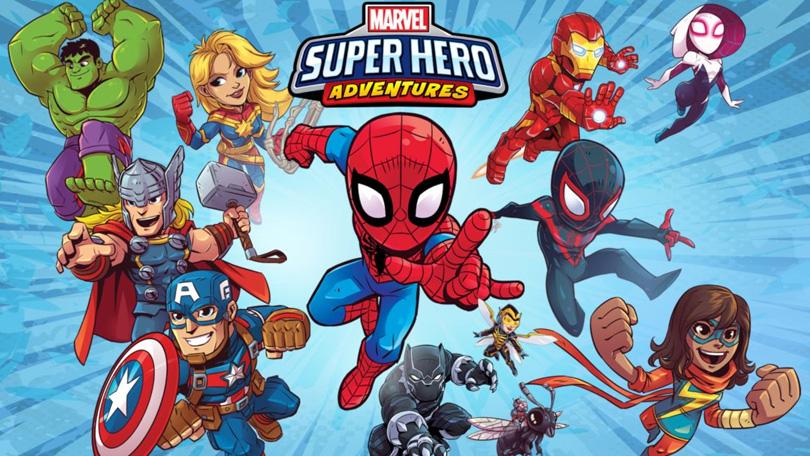 Marvel Superhelden avonturen