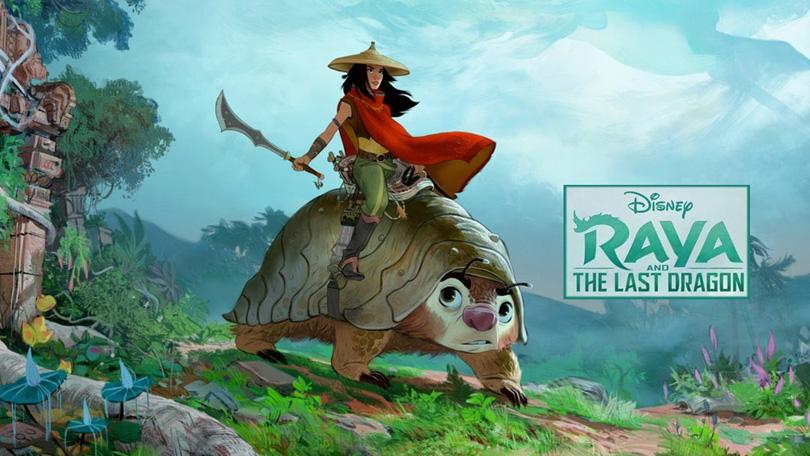 Raya and the Last Dragon Netflix