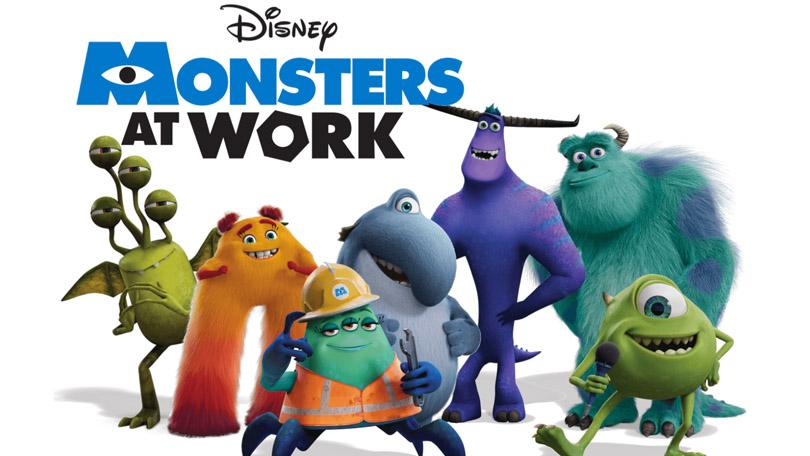 Monsters aan het Werk Disney Plus