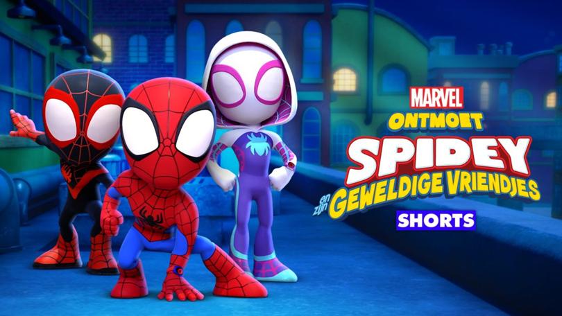 Ontmoet Spidey Disney Plus